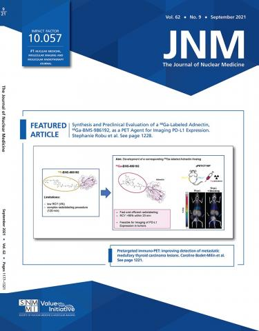 Journal of Nuclear Medicine: 62 (9)
